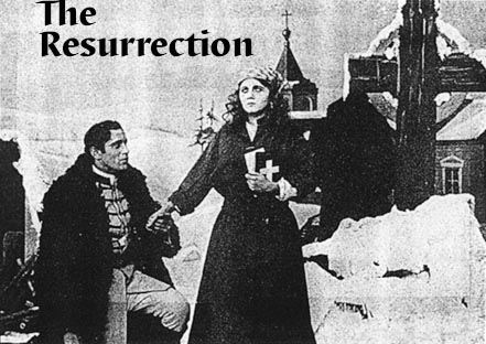 The Still from the D.W. Griffith short film of the Tolstoy Novel that inspired mine.